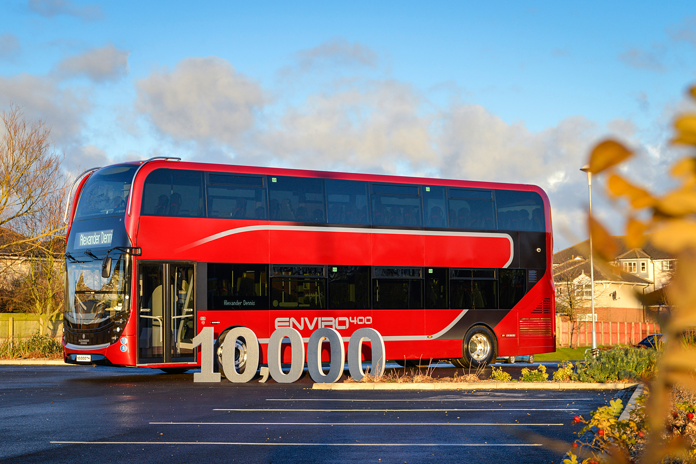 ADL celebrates 10,000-bus milestone with executive Enviro400