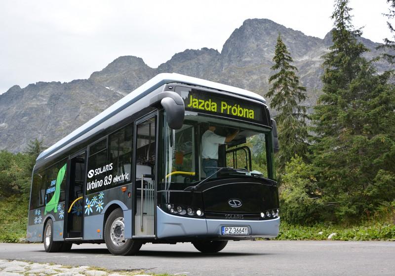 Zakopane in der Hohen Tatra setzt auf Solaris-Busse