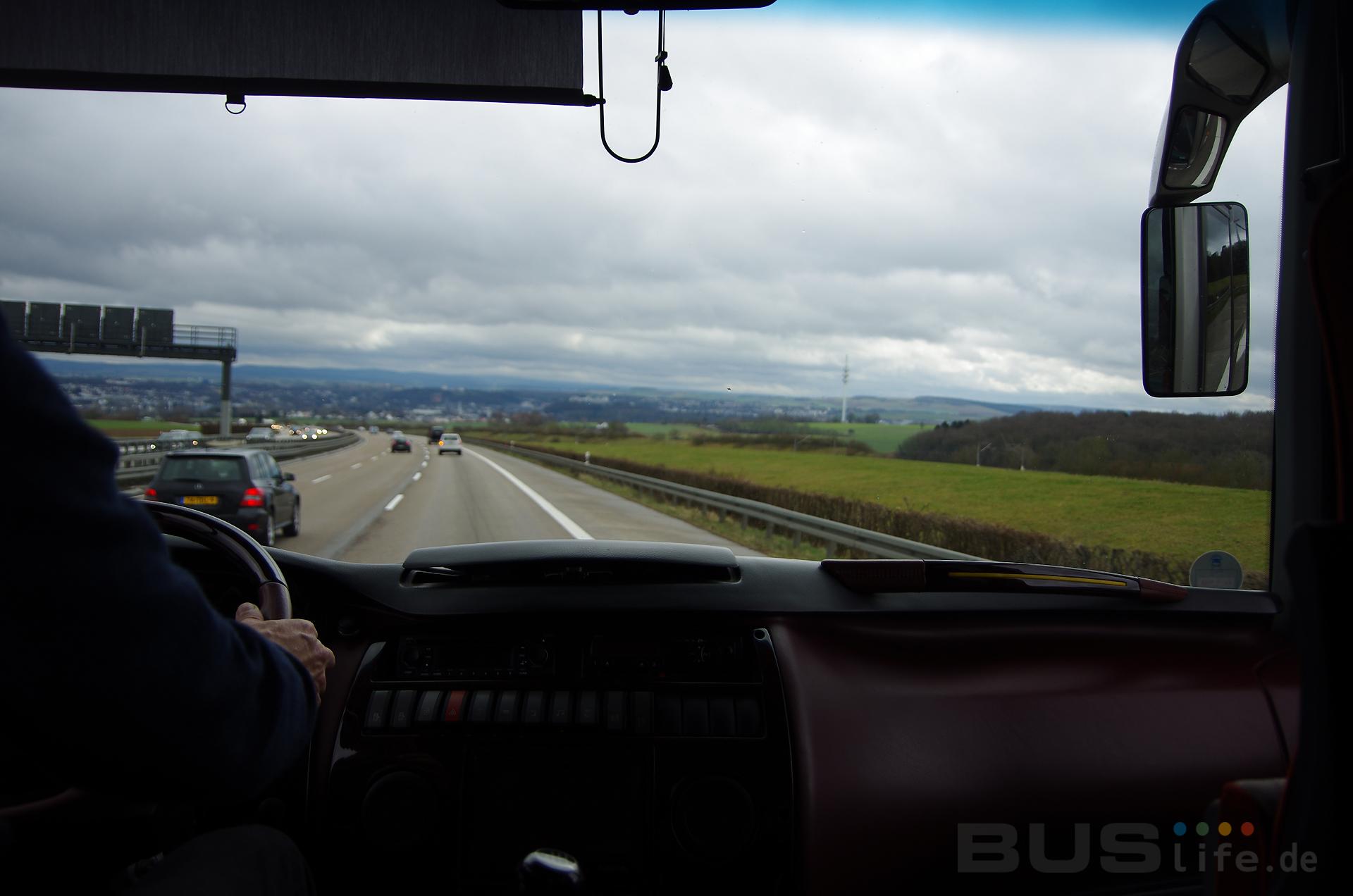 유럽 버스운전기사들의 근무시간 규정