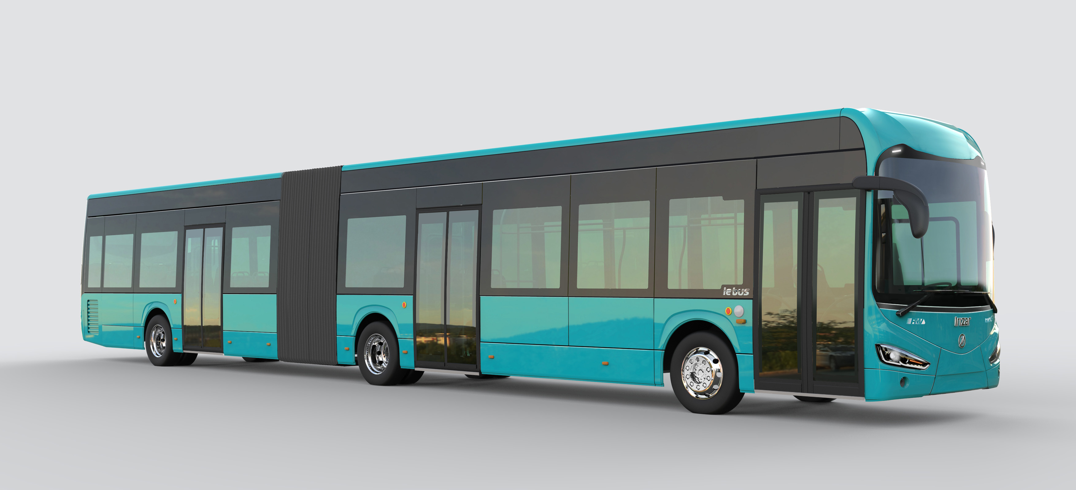 Articulated Irizar ie bus for Frankfurt