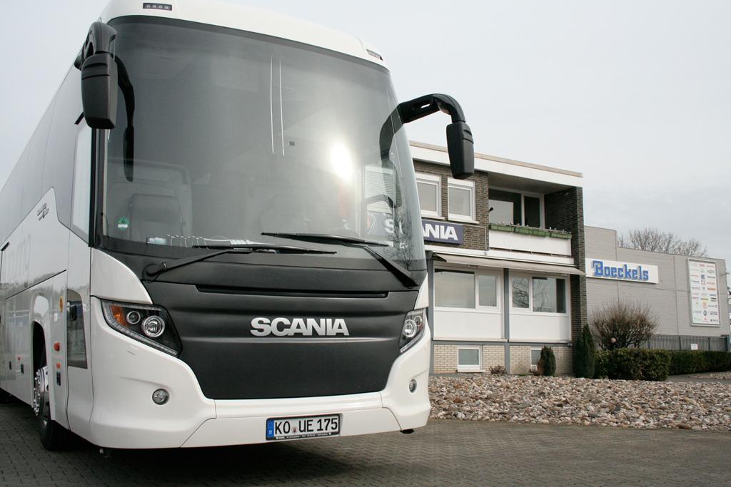 Scania Deutschland eröffnet Scania Bus Center in Willich
