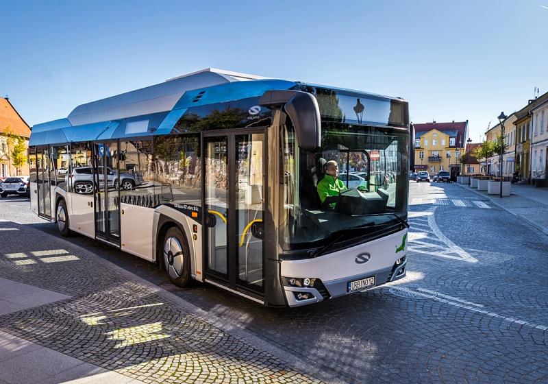 Weitere Elektrobusse von Solaris werden nach Deutschland geliefert