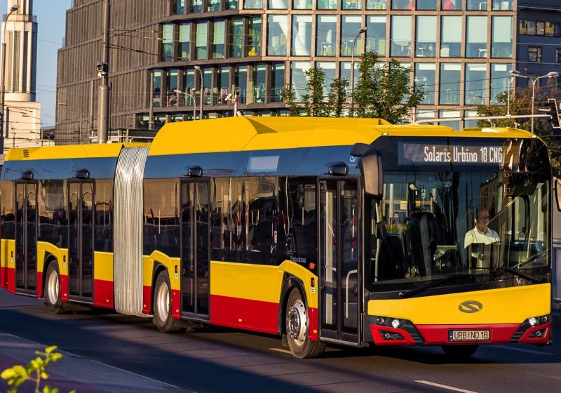 CNG-betriebene Urbino für Warschau. Großauftrag von Arriva.