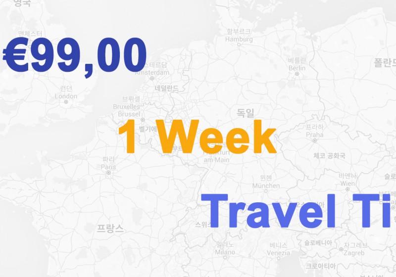 €99,00 1 Woche Reise - 001 Baden-Württemberg in Deutschland